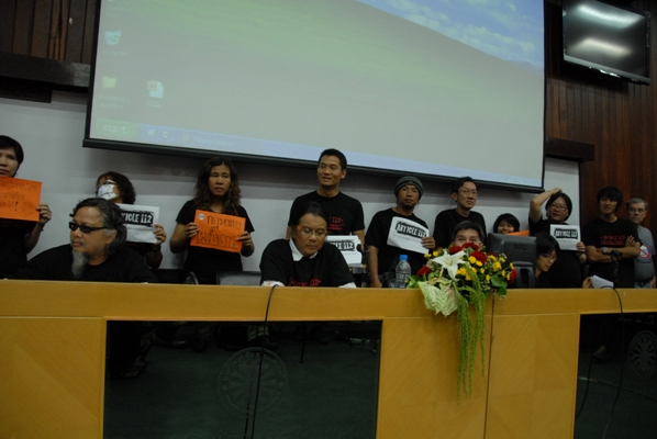 Thai Law Lecturers As Activists